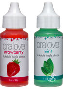 Oralove Delectable Duo Lickable Tingle...