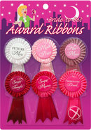 Bride To Be Award Ribbons Assorted Colors 6 Each Per Pack