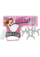 Bride To Be Naughty Tiara Set Pink And Black And Silver 6...